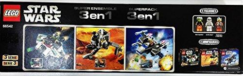 レゴ スターウォーズ Lego Star Wars Super Pack 3 in 1 Building Toy 66542 Microfighters Series 3レゴ スターウォーズ