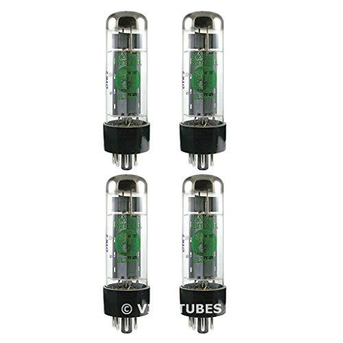 真空管 ギター・ベース アンプ 海外 輸入 New Current Matched Quad (4) Electro-Harmonix EL34 Small Bottle Vacuum Tubes真空管 ギター・ベース アンプ 海外 輸入