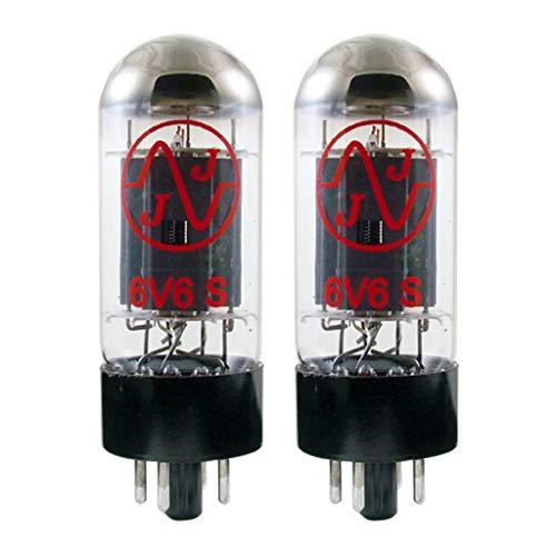 真空管 ギター・ベース アンプ 海外 輸入 【送料無料】New In Box Plate Current Matched Pair (2) JJ 6V6 / 6V6S Vacuum Tubes 6V6GT真空管 ギター・ベース アンプ 海外 輸入
