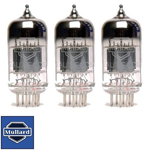 真空管 ギター・ベース アンプ 海外 輸入 Brand New Gain Matched Trio (3) Mullard Reissue ECC82 12AU7 Vacuum Tubes真空管 ギター・ベース アンプ 海外 輸入