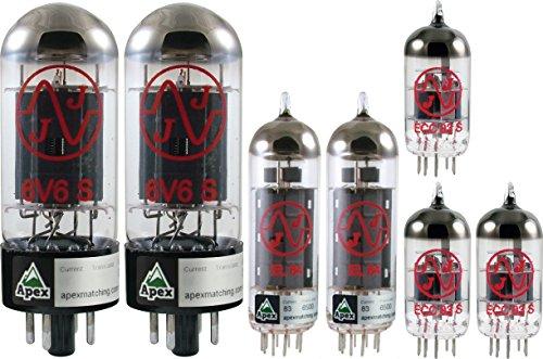 真空管 ギター・ベース アンプ 海外 輸入 Vacuum Tube Set for Egnater Rebel 20, JJ Brand, Apex Matched真空管 ギター・ベース アンプ 海外 輸入