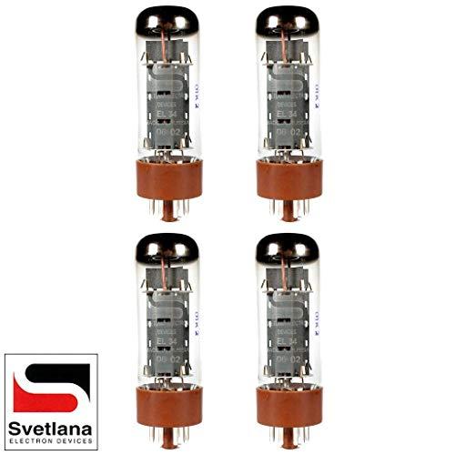 真空管 ギター・ベース アンプ 海外 輸入 Plate Current Matched Quad (4) Svetlana EL34 [Winged =C= Reissue] Vacuum Tubes真空管 ギター・ベース アンプ 海外 輸入
