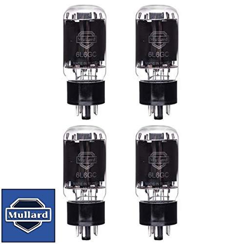 真空管 ギター・ベース アンプ 海外 輸入 Brand New Mullard Reissue 6L6GC 6L6 Current Matched Quad (4) Vacuum Tubes真空管 ギター・ベース アンプ 海外 輸入