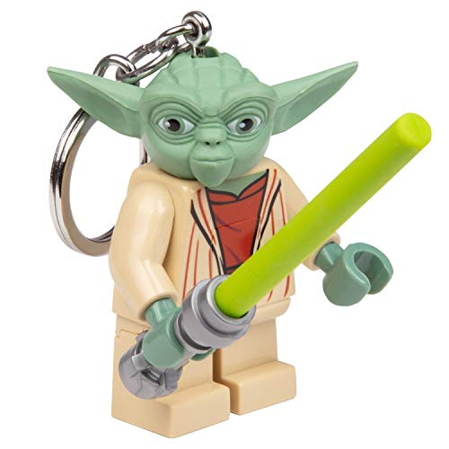 LEGO Star Wars Yoda Key Light with Lightsaber Lego Star Wars Toy