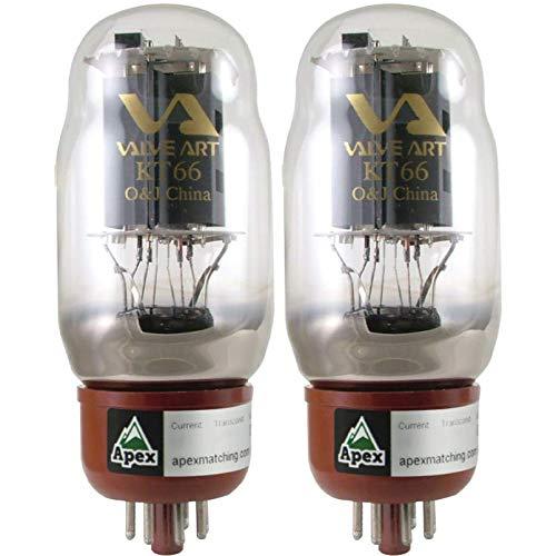 真空管 ギター・ベース アンプ 海外 輸入 Valve Art KT66 Vacuum Tube, Apex Matched Pair真空管 ギター・ベース アンプ 海外 輸入