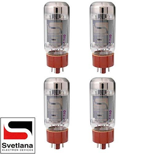 真空管 ギター・ベース アンプ 海外 輸入 Brand New Plate Current Matched Quad (4) Svetlana SV-6L6GC Vacuum Tubes真空管 ギター・ベース アンプ 海外 輸入