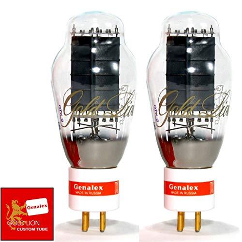 真空管 ギター・ベース アンプ 海外 輸入 New Genalex Reissue Current Matched Pair (2) PX300B / 300B GOLD PIN Vacuum Tubes真空管 ギター・ベース アンプ 海外 輸入