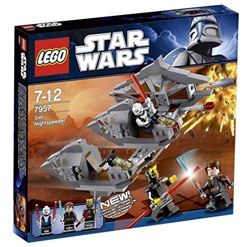レゴ スターウォーズ 【送料無料】LEGO Star Wars Sith Nightspeeder 7957 - 2011 Releaseレゴ スターウォーズ