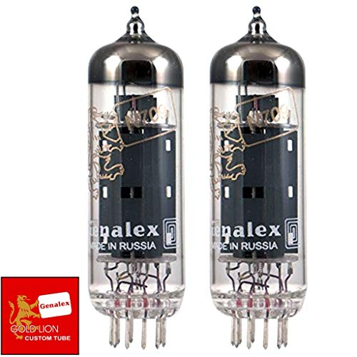 真空管 ギター・ベース アンプ 海外 輸入 Brand New Genalex Reissue EL84 6BQ5 N709 Current Matched Pair (2) Vacuum Tubes真空管 ギター・ベース アンプ 海外 輸入