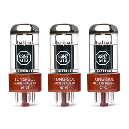 真空管 ギター・ベース アンプ 海外 輸入 New Gain Matched Trio (3) Tung-Sol Reissue 6SN7GTB Vacuum Tubes 6SN7 6SN7GT真空管 ギター・ベース アンプ 海外 輸入