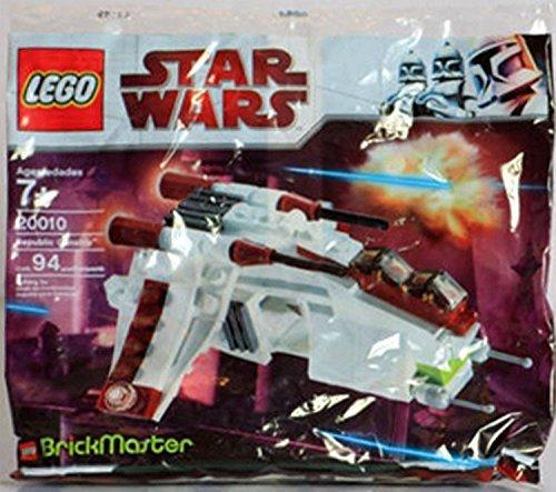 レゴ スターウォーズ LEGO Star Wars BrickMaster Exclusive Mini Building Set #20010 Republic Attack Gunship [Bagged]レゴ スターウォーズ