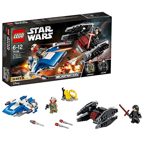 レゴ スターウォーズ Star Wars A-Wing Toy vs Tie Silencer Microfighters Building Setレゴ スターウォーズ