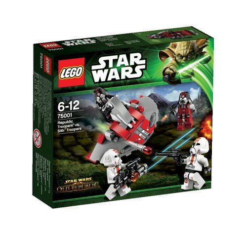 レゴ スターウォーズ LEGO (LEGO) Star Wars Republic Trooper? Vs cis? Troopers 75001レゴ スターウォーズ