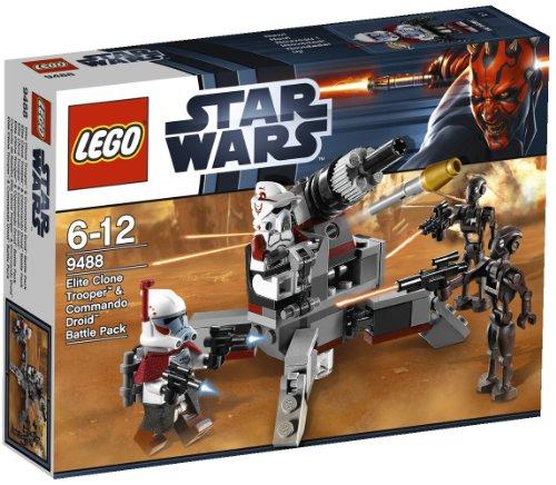 レゴ スターウォーズ 【送料無料】Stars Wars - Elite Clone Trooper & Commando Droid - 9488レゴ スターウォーズ