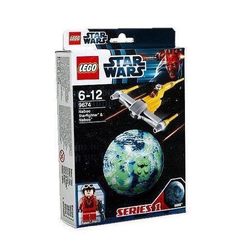 レゴ スターウォーズ LEGO (LEGO) Star Wars Naboo Starfighter (TM) and the planet Naboo (TM) 9674レゴ スターウォーズ