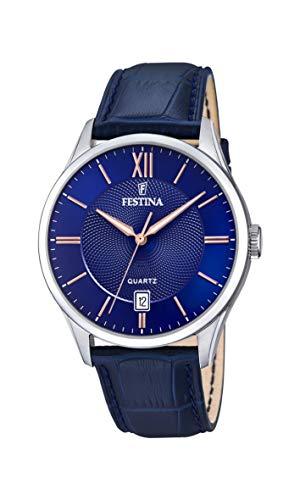 フェスティナ フェスティーナ スイス 腕時計 メンズ 【送料無料】Festina Mens Analogue Quartz Watch with Leather Strap F20426/5フェスティナ フェスティーナ スイス 腕時計 メンズ