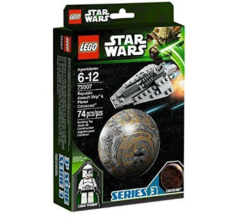 レゴ スターウォーズ 【送料無料】LEGO (Star Wars Republic Assault Ship? and Coruscant? 75007レゴ スターウォーズ