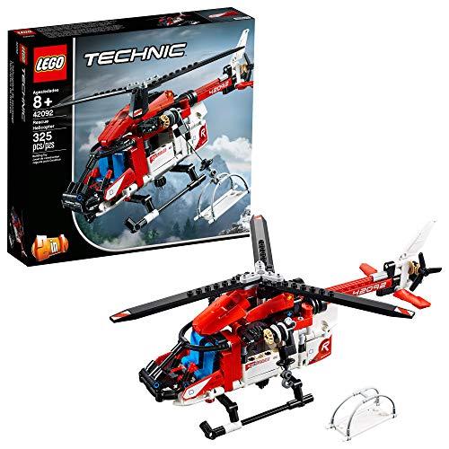 レゴ テクニックシリーズ LEGO Technic Rescue Helicopter 42092 Building Kit , New 2019 (325 Piece)レゴ テクニックシリーズ