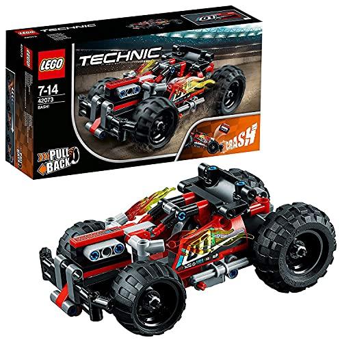 レゴ テクニックシリーズ 【送料無料】LEGO 42073 Technic BASH Racing Car Toy with Powerful Pull-Back Motor, High-Speed Action Vehicles Building Set,レゴ テクニックシリーズ