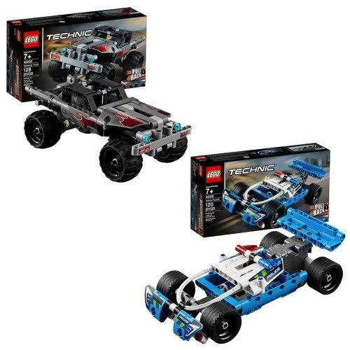 レゴ テクニックシリーズ LEGO Technic Police Pursuit & Getaway Truckレゴ テクニックシリーズ
