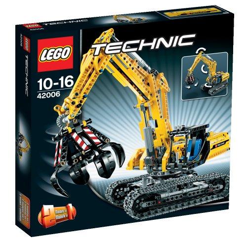 レゴ テクニックシリーズ LEGO Technic 42006 Excavator (720pcs)レゴ テクニックシリーズ