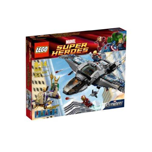 レゴ スーパーヒーローズ マーベル DCコミックス スーパーヒーローガールズ 【送料無料】LEGO Super Heroes Iron Man & Thor Quinjet Aerial Battle Avengers| 6869レゴ スーパーヒーローズ マーベル DCコミックス スーパーヒーローガールズ