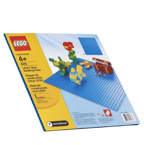 レゴ スーパーヒーローズ マーベル DCコミックス スーパーヒーローガールズ 【送料無料】LEGO Blue Building Plate (10