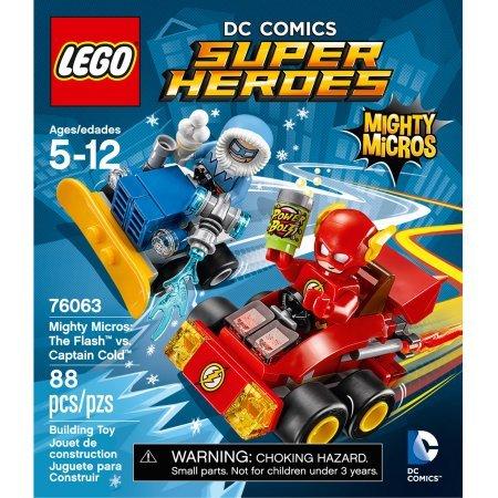 レゴ スーパーヒーローズ マーベル DCコミックス スーパーヒーローガールズ 88Pieces LEGO Super Heroes Mighty Micros: The Flash vs. Captain Co Model#76063レゴ スーパーヒーローズ マーベル DCコミックス スーパーヒーローガールズ