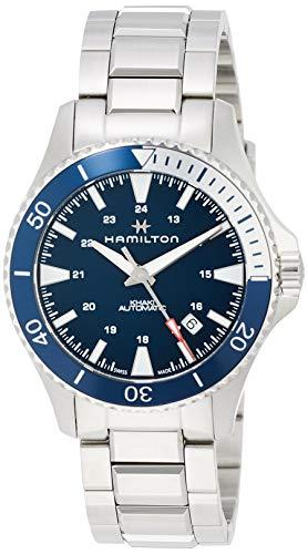 ハミルトン 腕時計 メンズ 【送料無料】Hamilton H82345141 Khaki Navy Scuba Auto Men's Watch 40mm Stainless Steelハミルトン 腕時計 メンズ