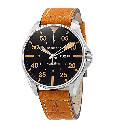腕時計 ハミルトン メンズ 【送料無料】Hamilton Khaki Pilot - H64725531 Black One Size腕時計 ハミルトン メンズ