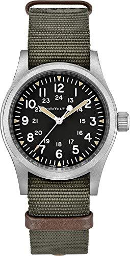 ハミルトン 腕時計 メンズ 【送料無料】Hamilton Unisex Khaki Field Mechanical - H69429931 Black/Green One Sizeハミルトン 腕時計 メンズ