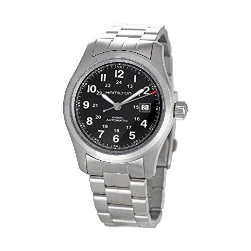 ハミルトン 腕時計 メンズ 夏のボーナス特集 Hamilton Khaki Field Auto Men's Swiss Watch, Black H70515137ハミルトン 腕時計 メンズ 夏のボーナス特集