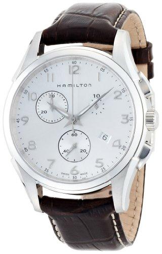 腕時計 ハミルトン メンズ 【送料無料】Hamilton Men's H38612553 Jazzmaster Analog Swiss Automatic Brown Watch腕時計 ハミルトン メンズ