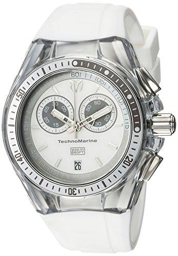 テクノマリーン 腕時計 レディース 【送料無料】Invicta Women's Cruise Stainless Steel Quartz Watch with Silicone Strap, White, 26 (Model: TM-115336)テクノマリーン 腕時計 レディース