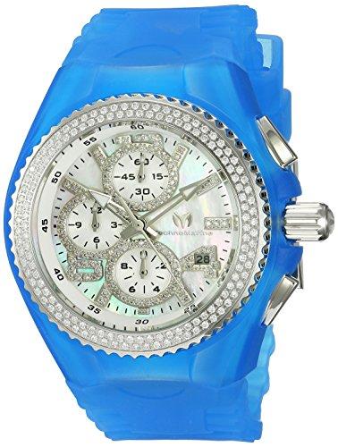 テクノマリーン 腕時計 レディース 【送料無料】Technomarine Women's Stainless Steel Quartz Watch with Silicone Strap, Blue, 26 (Model: TM-115244)テクノマリーン 腕時計 レディース