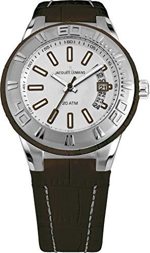 ジャックルマン オーストリア 腕時計 メンズ ケビンコスナー愛用 【送料無料】Jacques Lemans Milano 1-1770F Mens Wristwatch 200m Water-Resistantジャックルマン オーストリア 腕時計 メンズ ケビンコスナー愛用