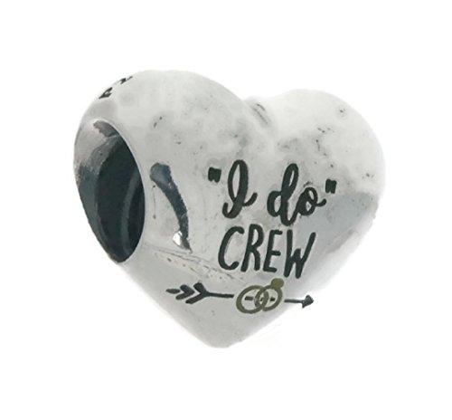 パンドラ ブレスレット アクセサリー ブランド かわいい PANDORA I Do Crew Heart Charm in Sterling Silver ENG790137_12パンドラ ブレスレット アクセサリー ブランド かわいい