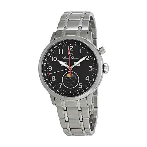 ルシアンピカール 腕時計 メンズ 【送料無料】Lucien Piccard Complete Calendar Black Dial Men's Watch 40016-11ルシアンピカール 腕時計 メンズ