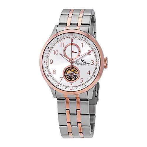 ルシアンピカール 腕時計 メンズ Lucien Piccard Open Heart GMT II Automatic Two-Tone Men's Watch LP-28010A-22S-RBルシアンピカール 腕時計 メンズ