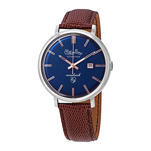 ルシアンピカール 腕時計 メンズ 【送料無料】Lucien Piccard Seashark Automatic Blue Dial Men's Watch LP-18115-03ルシアンピカール 腕時計 メンズ