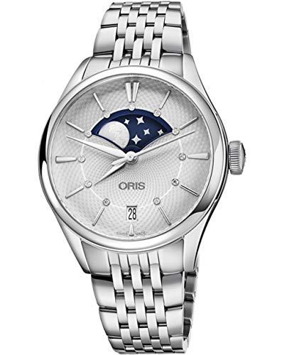 オリス 腕時計 レディース 【送料無料】Oris Artelier Grande Lune, Dateオリス 腕時計 レディース