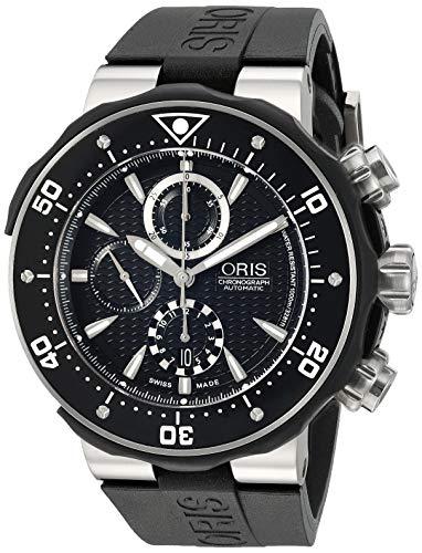 オリス 腕時計 メンズ 【送料無料】Oris Pro Diver Chronograph Mens Watch 674 7630 71 54 RSオリス 腕時計 メンズ