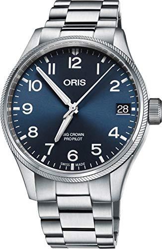 オリス 腕時計 メンズ 【送料無料】Oris Big Crown ProPilot Automatic Blue Dial Mens Watch 01 751 7697 4065-07 8 20 19オリス 腕時計 メンズ