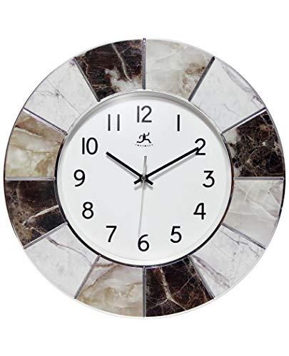壁掛け時計 インテリア インテリア 海外モデル アメリカ 【送料無料】Infinity Instruments Modern Marble Wall Clock | 16 inch Professional Easy-to-Read Large Wall Clock | Multi-Color Marble Frame壁掛け時計 インテリア インテリア 海外モデル アメリカ
