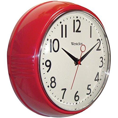 壁掛け時計 インテリア インテリア 海外モデル アメリカ Westclox 32042R CLOCK WALL RND 9-1/2 IN Pack of 4壁掛け時計 インテリア インテリア 海外モデル アメリカ
