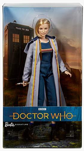 バービー バービー人形 日本未発売 ホリデーバービー Barbie Doctor Who Thirteenth Doctor with Sonic Screwdriver Collector Dollバービー バービー人形 日本未発売 ホリデーバービー