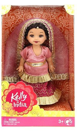 バービー バービー人形 ウェディング ブライダル 結婚式 Kelly In India Doll Pinkバービー バービー人形 ウェディング ブライダル 結婚式