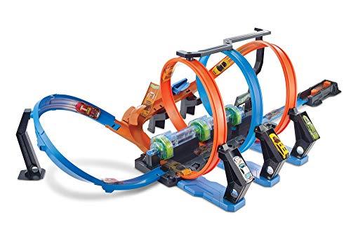 ホットウィール マテル ミニカー ホットウイール 【送料無料】Hot Wheels Corkscrew Crash Track Setホットウィール マテル ミニカー ホットウイール