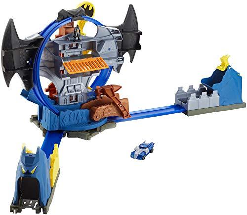 ホットウィール マテル ミニカー ホットウイール 【送料無料】Hot Wheels City Batman Batcave Track Set, Multicolorホットウィール マテル ミニカー ホットウイール