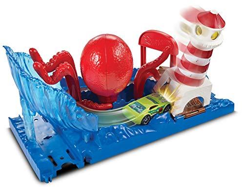 ホットウィール マテル ミニカー ホットウイール 【送料無料】Hot Wheels City Octopus Playsetホットウィール マテル ミニカー ホットウイール